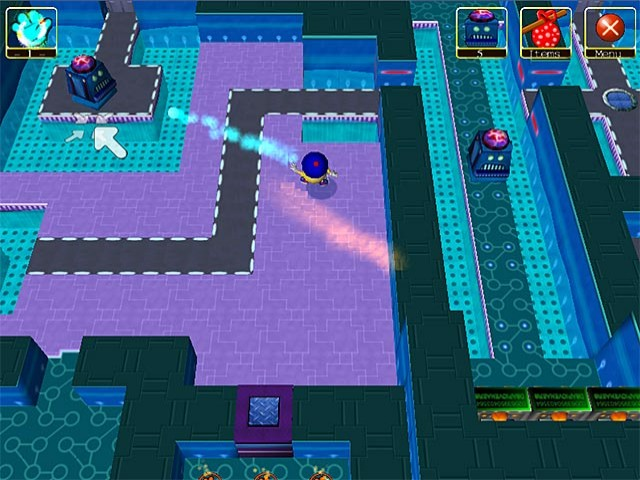 Wonderland Adventures: Planet of the Z-Bots Game screenshot 1
