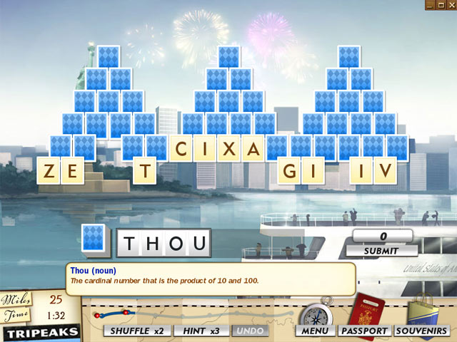 Word Travels Game screenshot 1