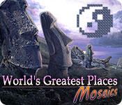 Free World's Greatest Places Mosaics Game
