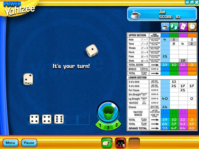Yahtzee Game screenshot 1