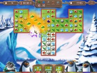 Yeti Quest: Crazy Penguins Game screenshot 1
