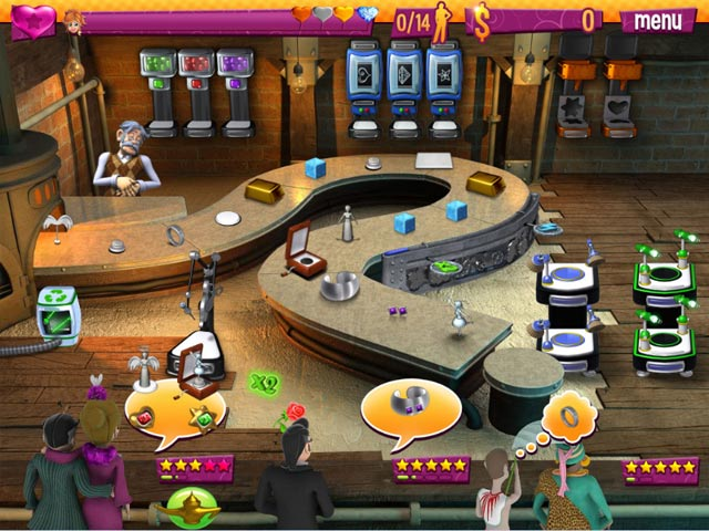 Youda Jewel Shop Game screenshot 1