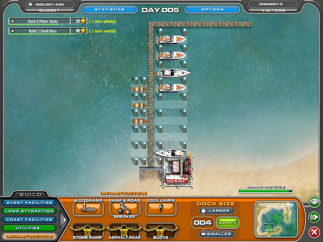 Youda Marina Game screenshot 3