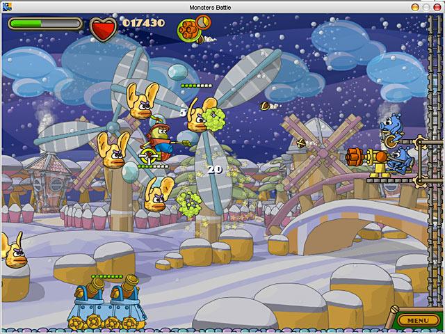 Zack-n-Jack in Showdown at Monstertown Game screenshot 1