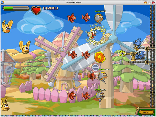 Zack-n-Jack in Showdown at Monstertown Game screenshot 2