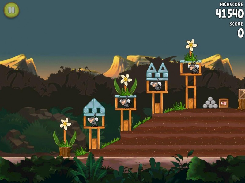 Angry Birds Rio HD iPad Game Download image 4