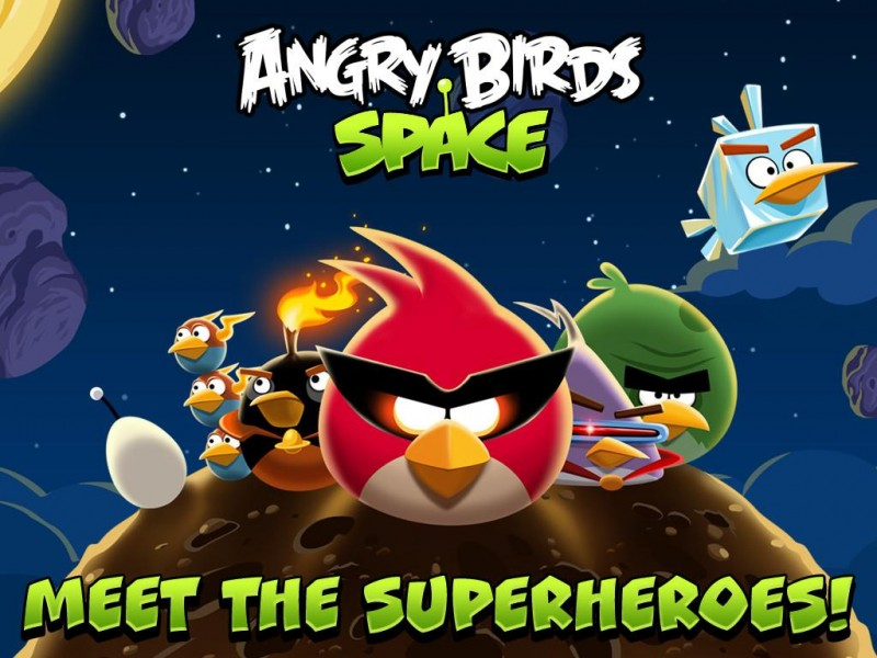 Angry Birds Space HD iPad Game Download image 1
