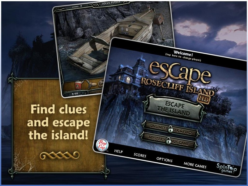 Escape Rosecliff Island HD iPad Game Download image 1