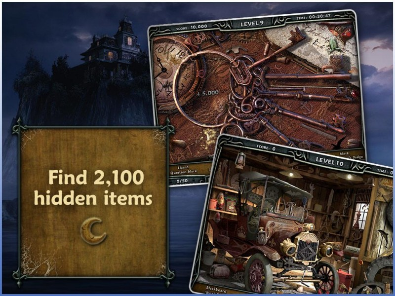 Escape Rosecliff Island HD iPad Game Download image 3