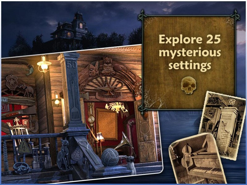 Escape Rosecliff Island HD iPad Game Download image 4