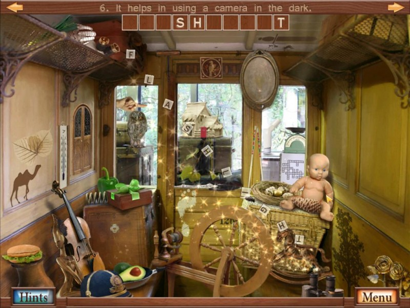Hidden Object Crosswords iPad Game Download image 4