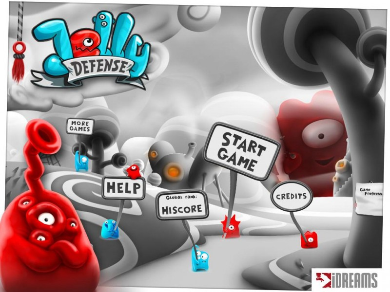 Jelly Defense iPad Game Download image 2