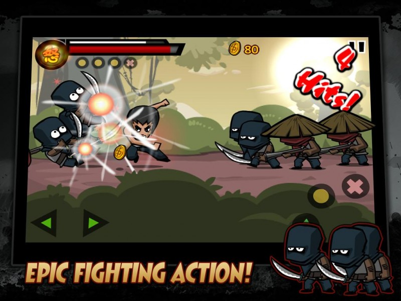 KungFu Warrior iPad iPad Game Download image 1