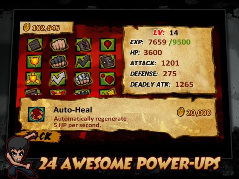 KungFu Warrior iPad iPad Game Download image 5