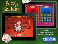 Puzzle Solitaire Download iPad Game image 1