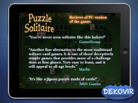 Puzzle Solitaire Download iPad Game image 4