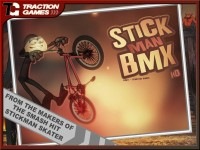 Stickman BMX HD Download iPad Game image 1