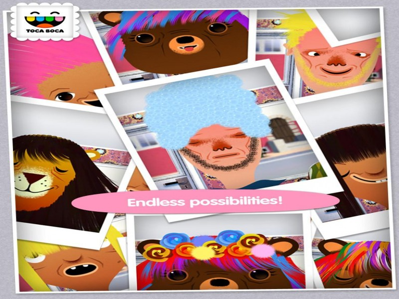Toca Hair Salon iPad Game Download image 5