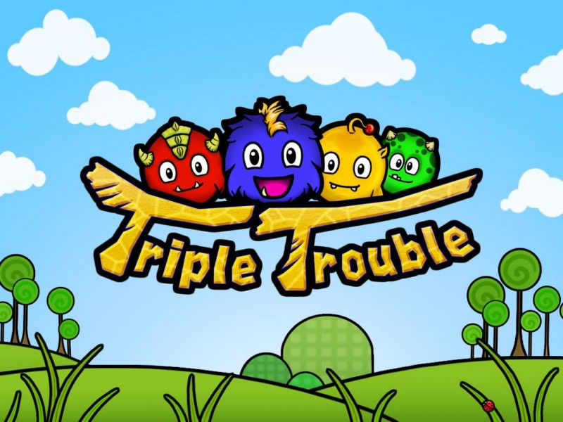 Triple Trouble HD iPad Game Download image 1
