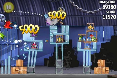 Angry Birds Rio iPhone Game Download image 1
