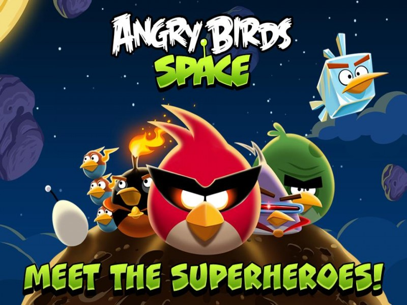 Angry Birds Space iPhone Game Download image 1