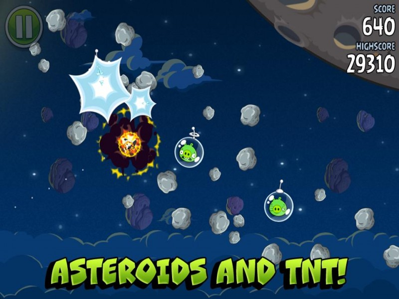Angry Birds Space iPhone Game Download image 4