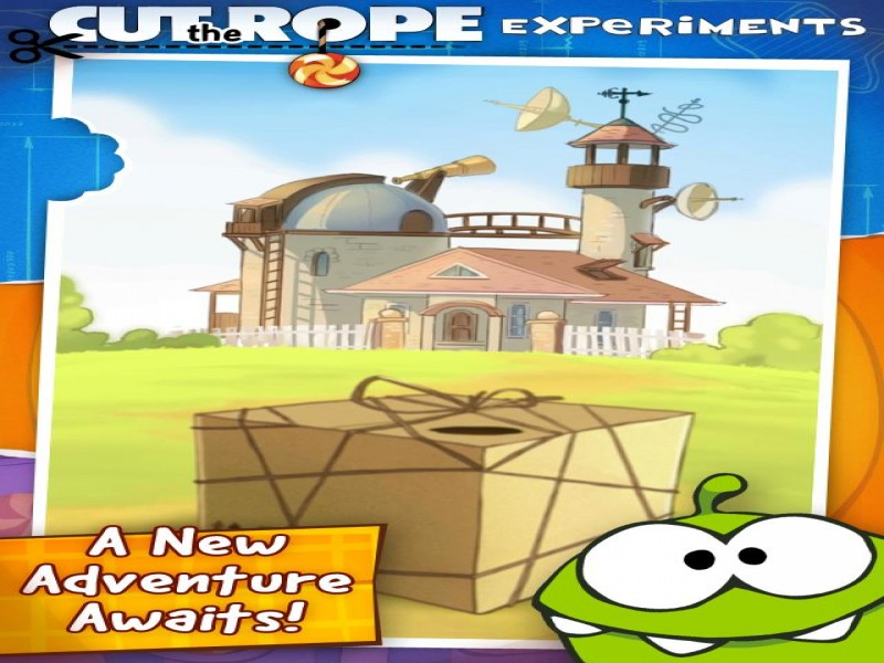 Cut the Rope: Experiments iPhone Game Download image 1