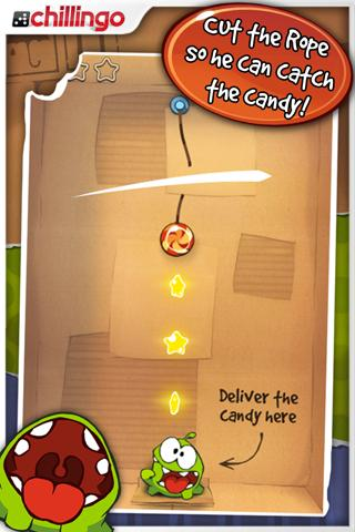 Cut the Rope iPhone Game Download image 3