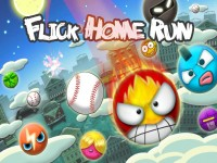 Flick Home Run ! Download iPhone Game image 1