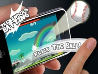 Flick Home Run ! Download iPhone Game image 2