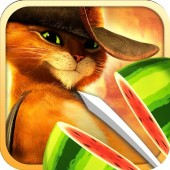 iPhone Fruit Ninja: Puss in Boots Game Download
