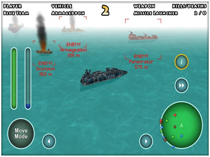 Minute Commander iPhone Game Download image 2