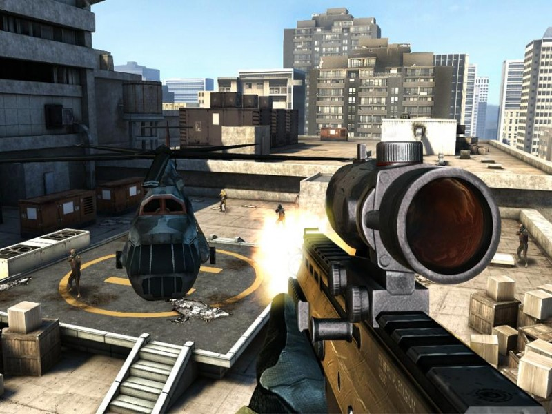 Modern Combat 3: Fallen Nation iPhone Game Download image 1