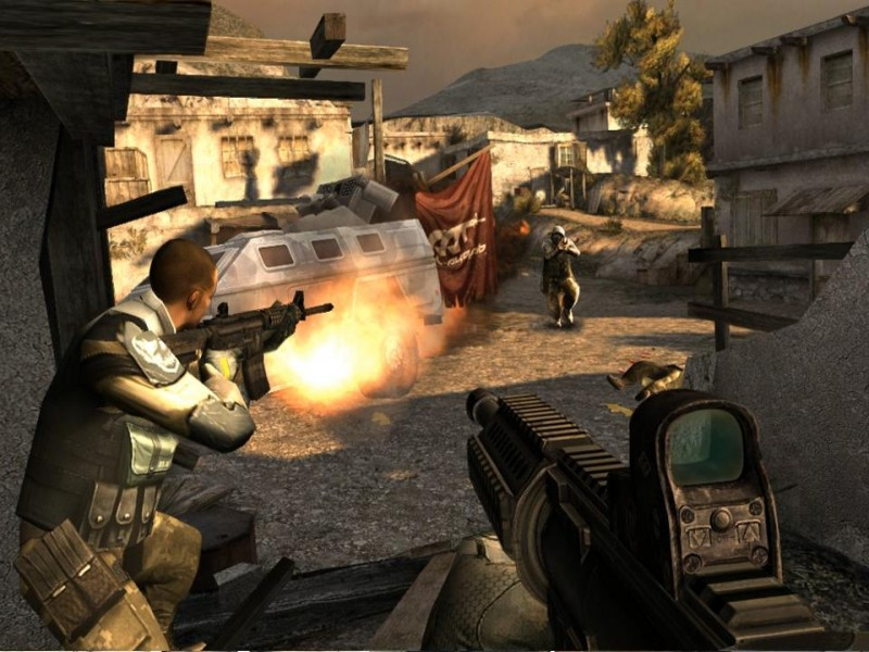 Modern Combat 3: Fallen Nation iPhone Game Download image 2