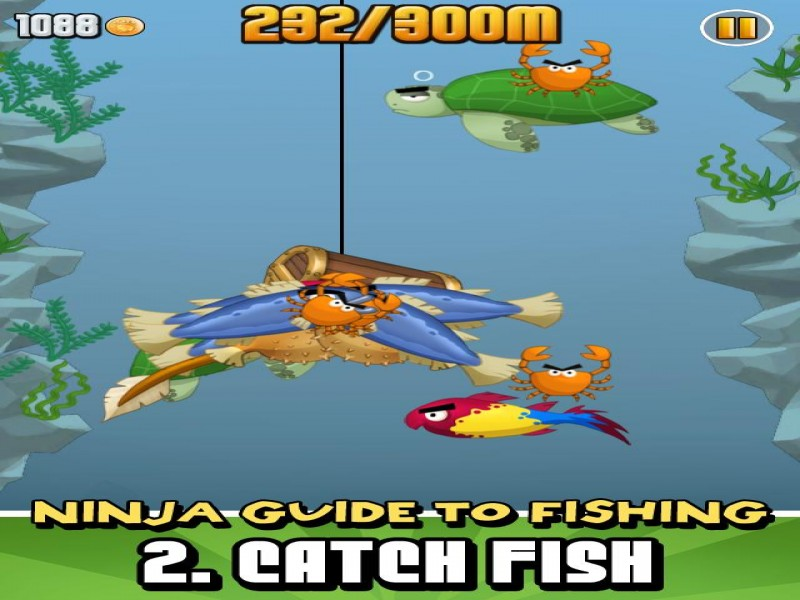 Ninja fishing iphone ipod download game images 2 chocosnow com