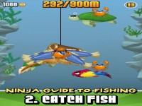 Ninja Fishing Download iPhone Game image 2