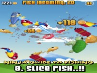 Ninja Fishing Download iPhone Game image 3