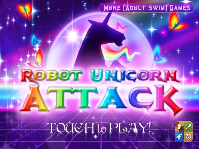 Robot Unicorn Attack iPhone Game Download image 1