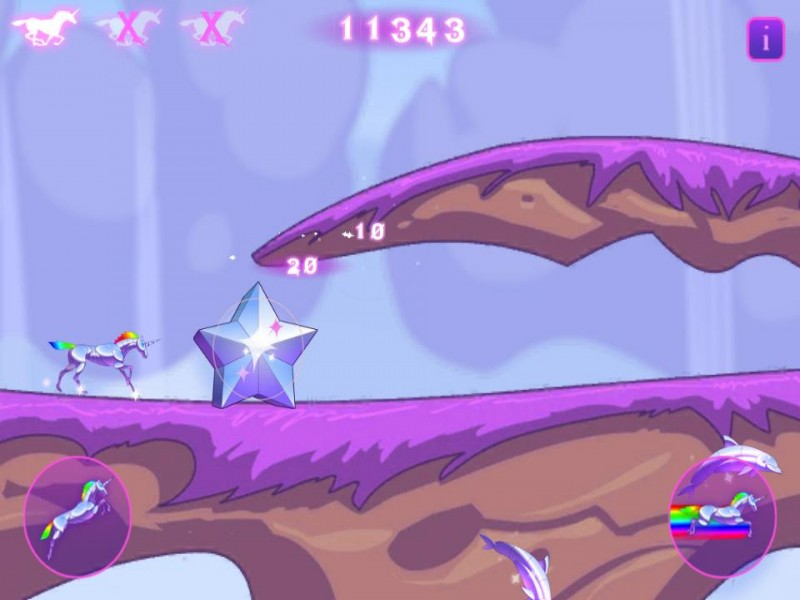 Robot Unicorn Attack iPhone Game Download image 2
