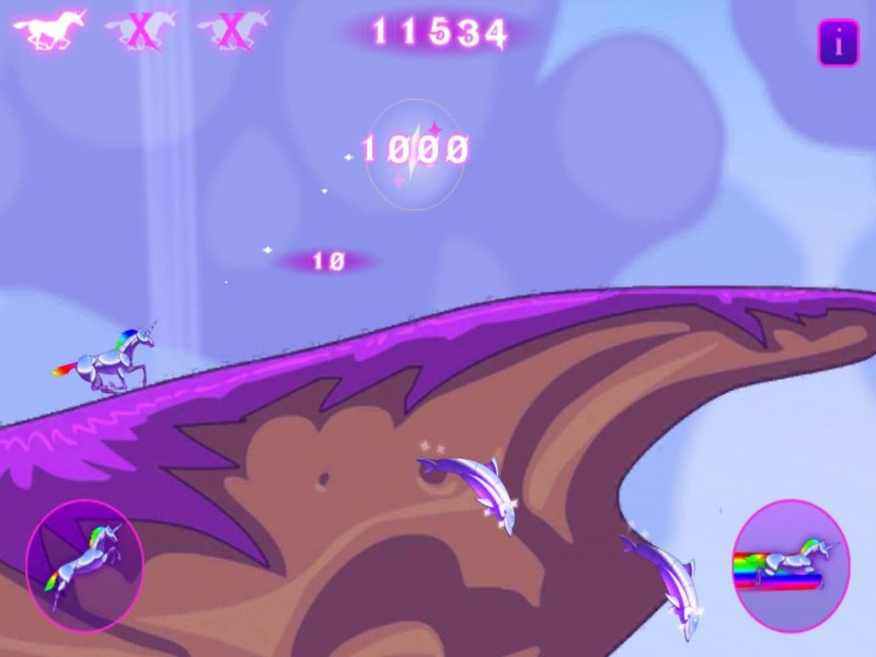 Robot Unicorn Attack iPhone Game Download image 3
