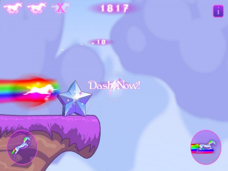 Robot Unicorn Attack iPhone Game Download image 4