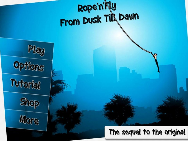 Rope'n'Fly: From Dusk Till Dawn iPhone Game Download image 1