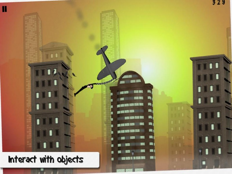 Rope'n'Fly: From Dusk Till Dawn iPhone Game Download image 3