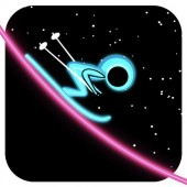 iPhone Ski On Neon Game Download