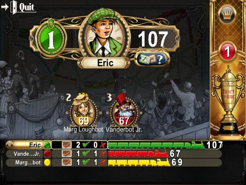 Ticket to Ride Pocket iPhone Game Download image 4