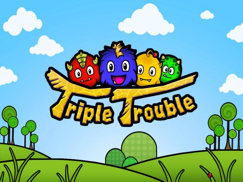 Triple Trouble iPhone iPhone Game Download image 1
