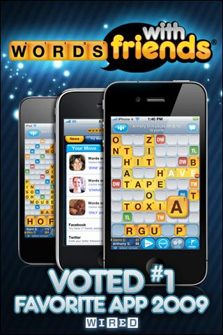 Words With Friends iPhone Game Download image 1