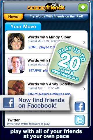 Words With Friends iPhone Game Download image 4