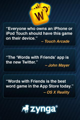 Words With Friends iPhone Game Download image 5