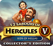 Free 12 Labours of Hercules V: Kids of Hellas Collector's Edition Mac Game